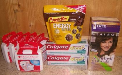 CVS haul shopping trip coupons
